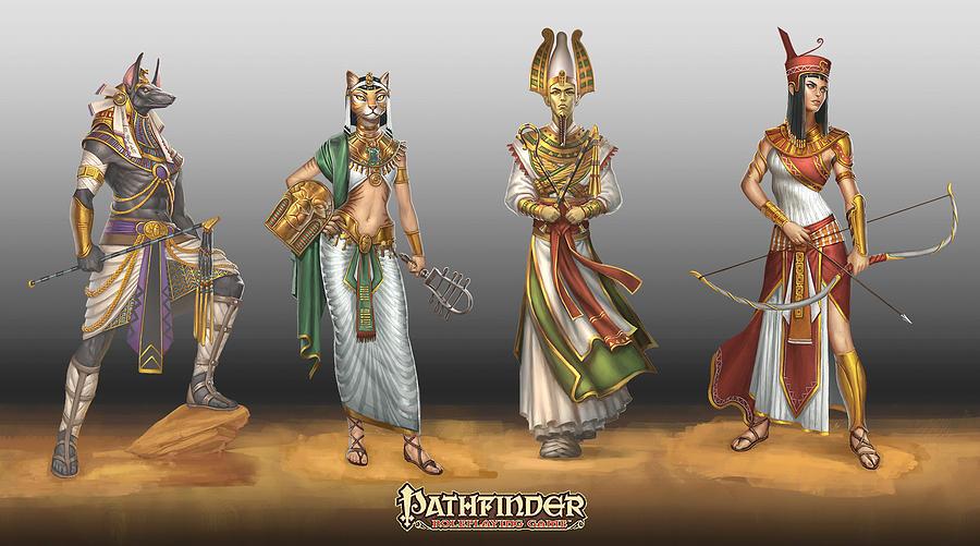 Gods Digital Art - Gods by Dorothy Binder