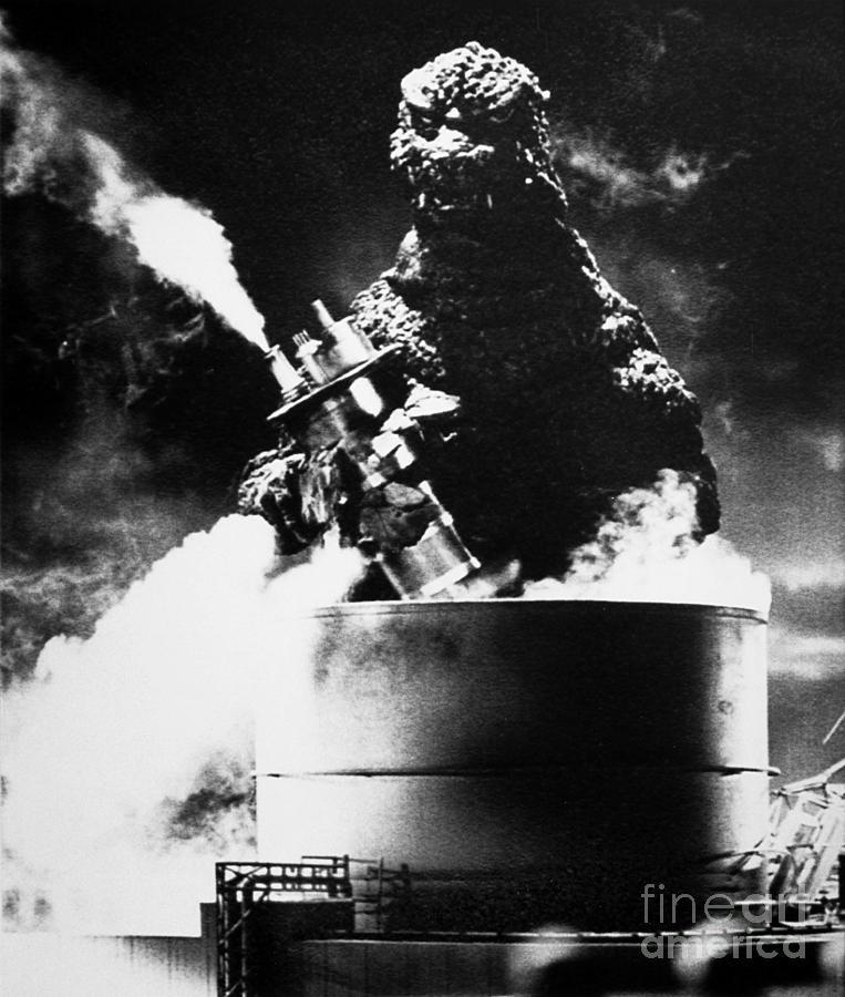 20th Century Photograph - Godzilla by Granger