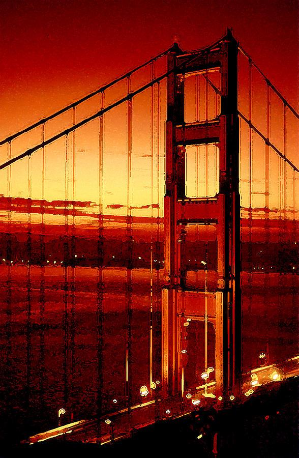 Golden Gate Photograph - Golden Gate Bridge by Gene Sizemore