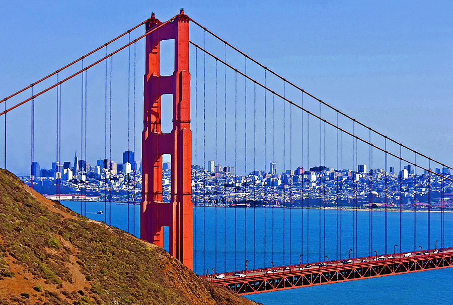 American West Photograph - Golden Gate by Dennis Cox