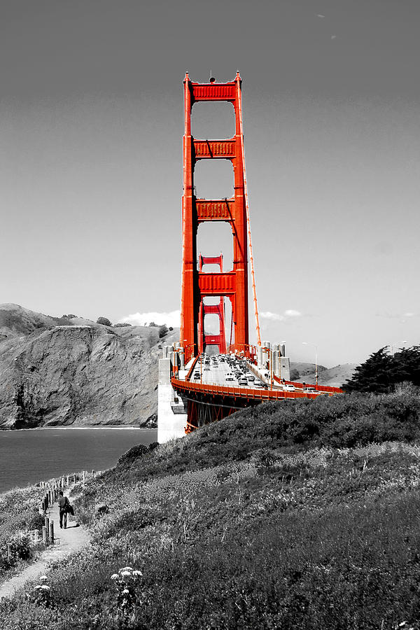 City Photograph - Golden Gate by Greg Fortier
