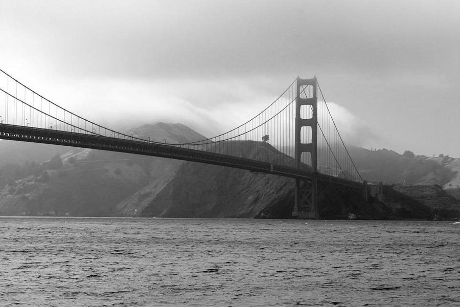 Seascape Photograph - Golden Gate by Ofelia  Arreola