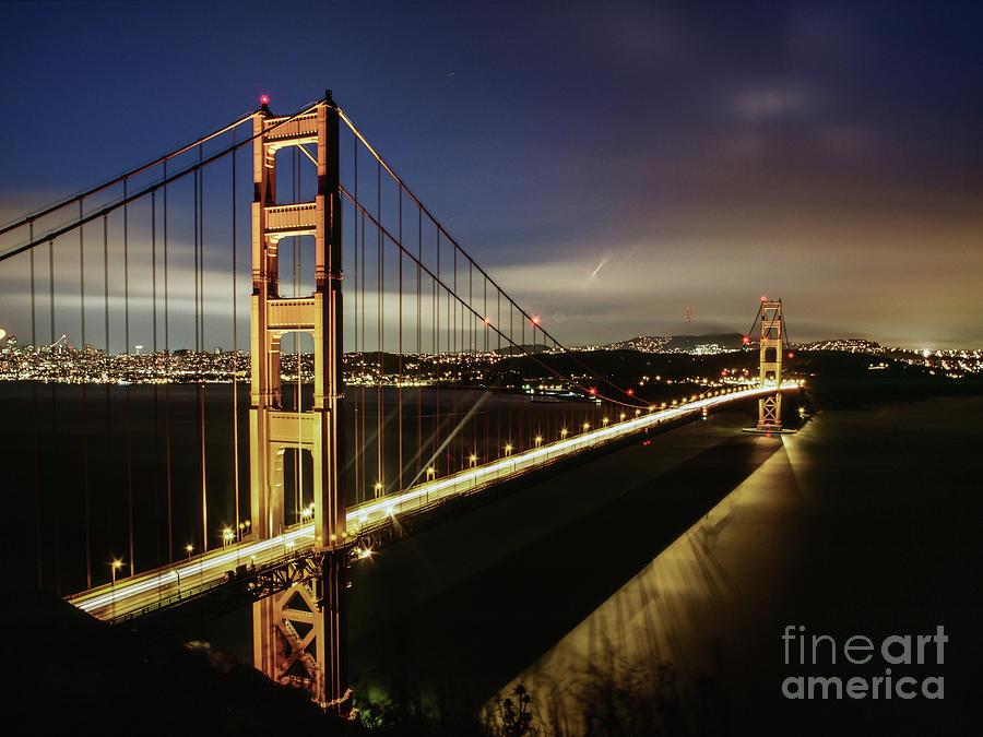 Golden Gate Twilight by Stephen McDowell