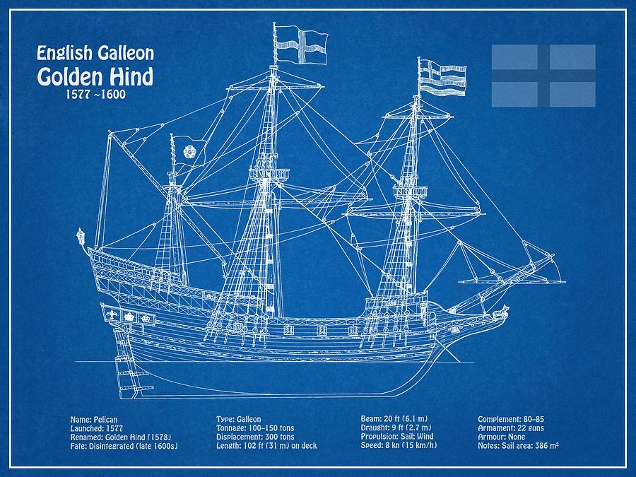 1-golden-hind-or-golden-hinde-ship-plans