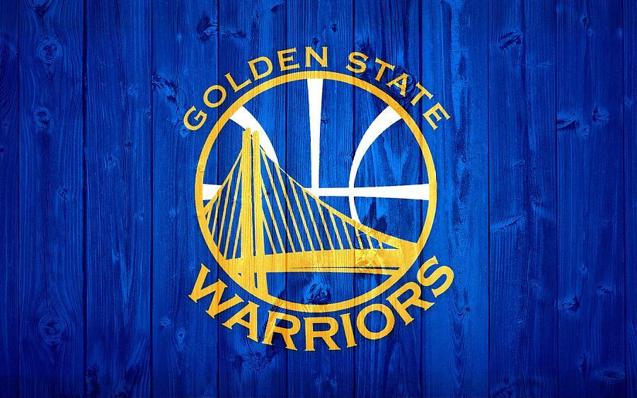 Golden State Warriors Door Digital Art By Dan Sproul