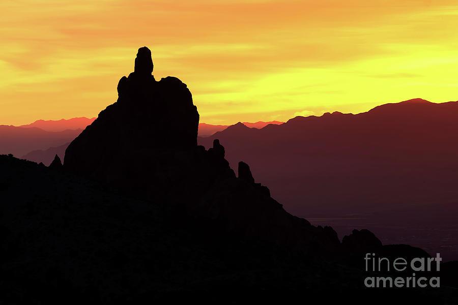 Sky Photograph - Golden Sunset by Rick Mann