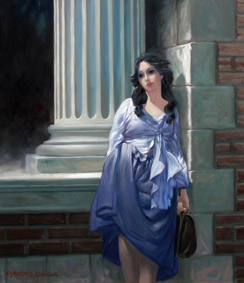 Figurative Painting - Gone With The Wind by Kevin Lawrence Leveque