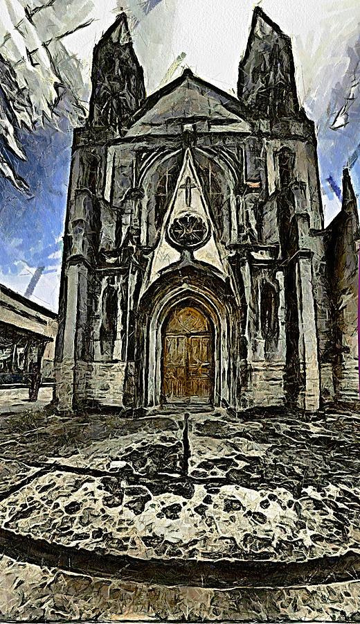 Gotic Photograph - Gotic Church by Galeria Trompiz