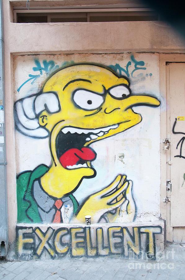 Graffiti Wall Art Tel Aviv Photograph by Humorous Quotes