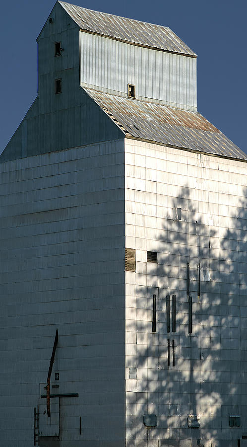 Palouse Photograph - Grain Elevator In Troy Idaho by Jerry McCollum