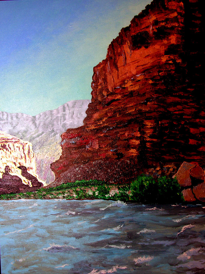 Grand Canyon Painting - Grand Canyon II by Stan Hamilton