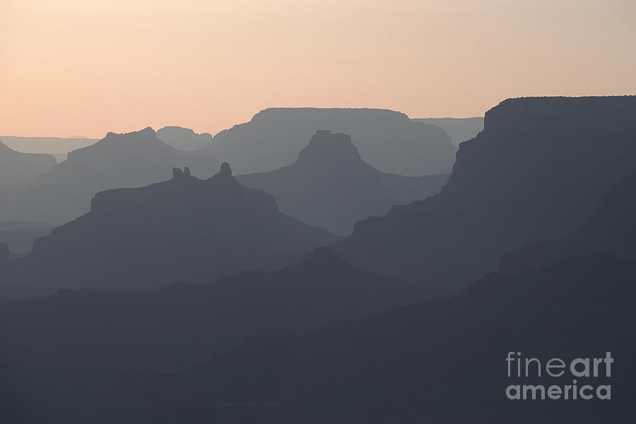 Grand Canyon Photograph - Grand Canyon Pastel by Stan and Anne Foster