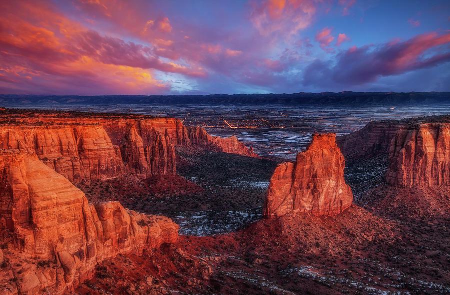 Grand View Sunrise Photograph