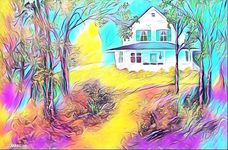Grandmas House Digital Art