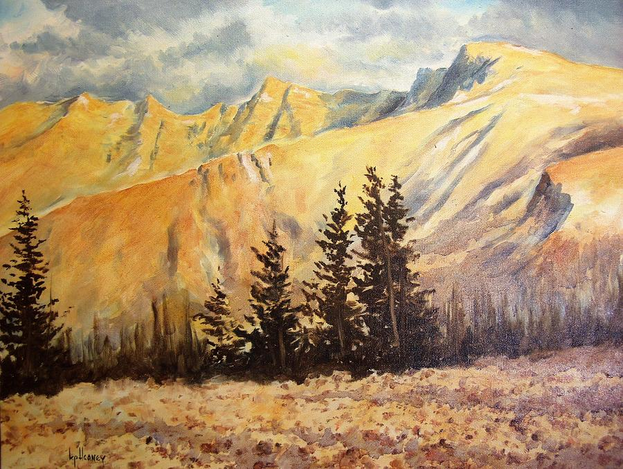 National Park Painting - Great Basin National Park Nevada by Kevin Heaney