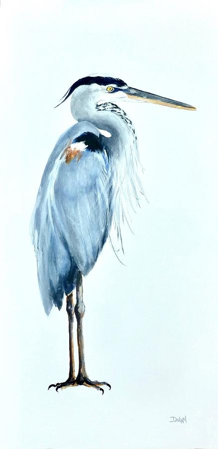 Great Blue Heron by Pat Dolan