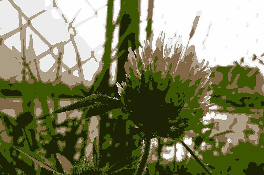 Plants Digital Art - Green by Kumiko Izumi