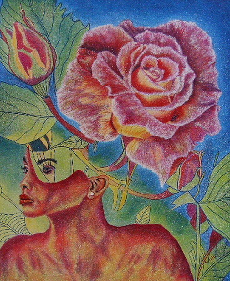 Landscap Painting - Growth Within by Shahid Muqaddim