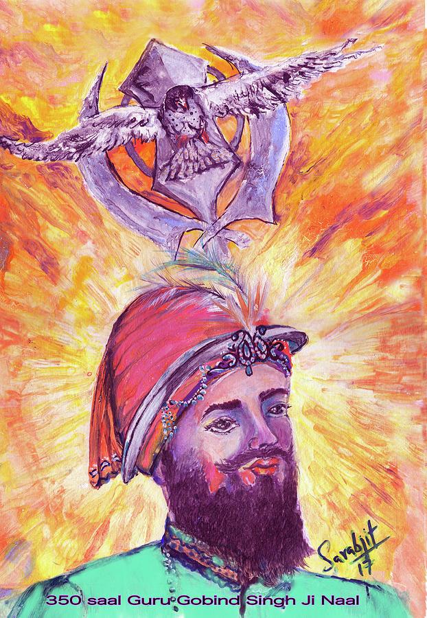 Guru Gobind Singh by Sarabjit Singh