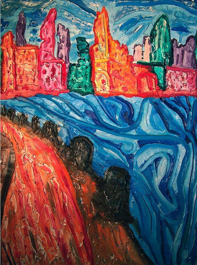 Boston Harbor Painting - Ha Ba by Ira Stark