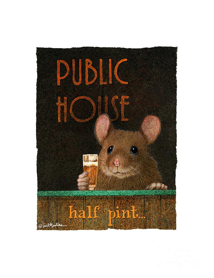 Mouse Painting - Half Pint... by Will Bullas