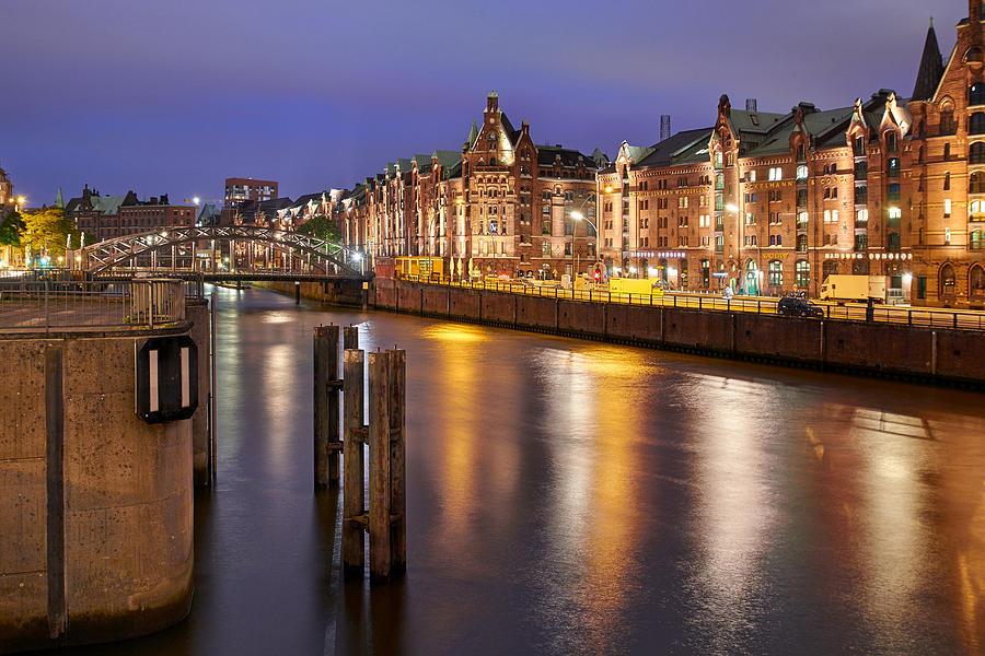 Hamburg Speicherstadt by Marc Huebner