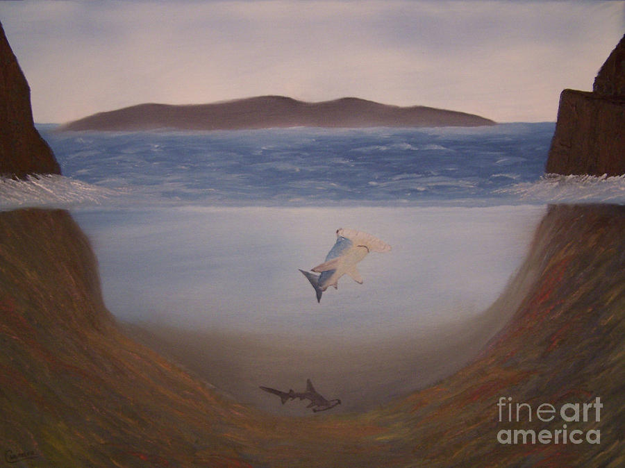 Landscapes Painting - Hammerheads by Chet Wheeler