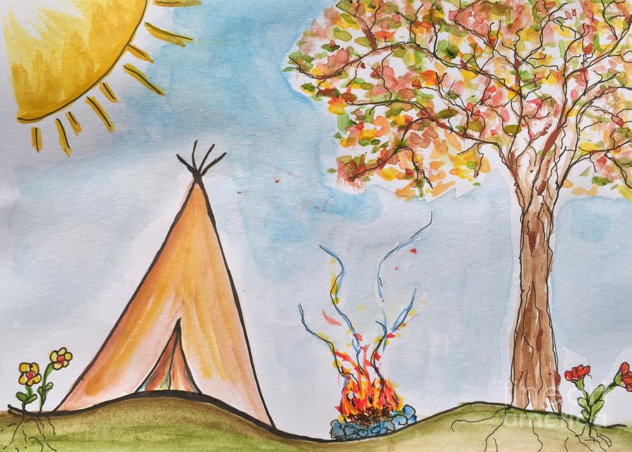Happy Campers by Anne Clark