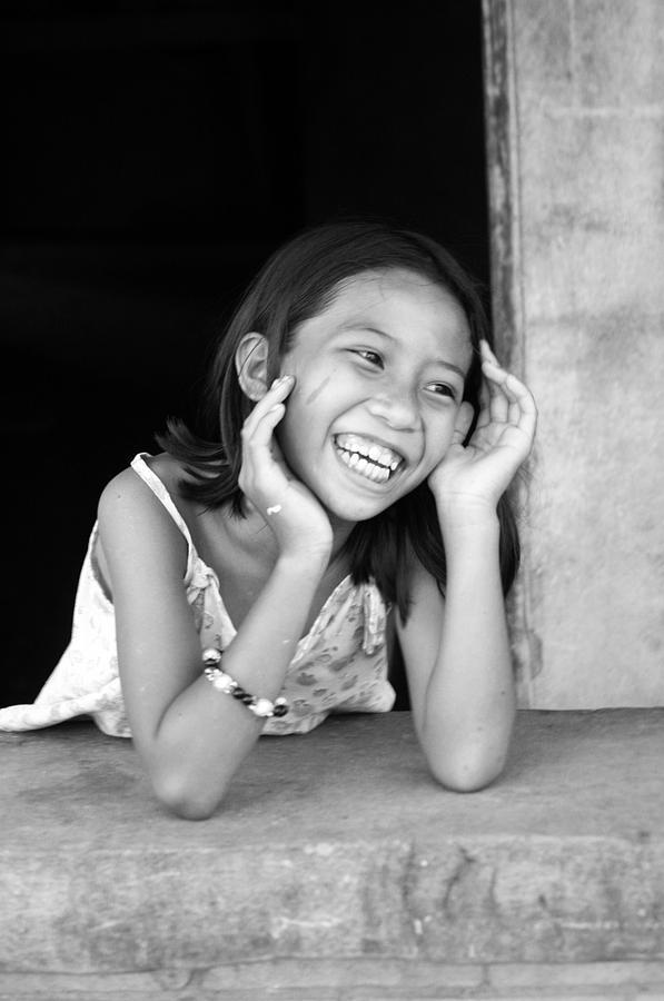Photographer Photograph - Happy Here by Jez C Self