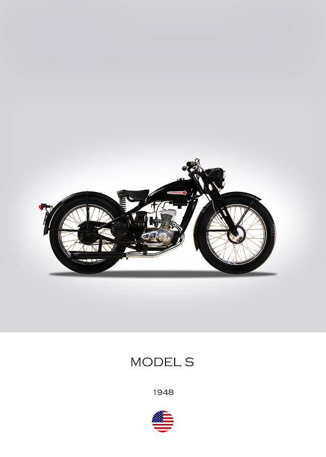 Harley Davidson Photograph - Harley Davidson Model S by Mark Rogan