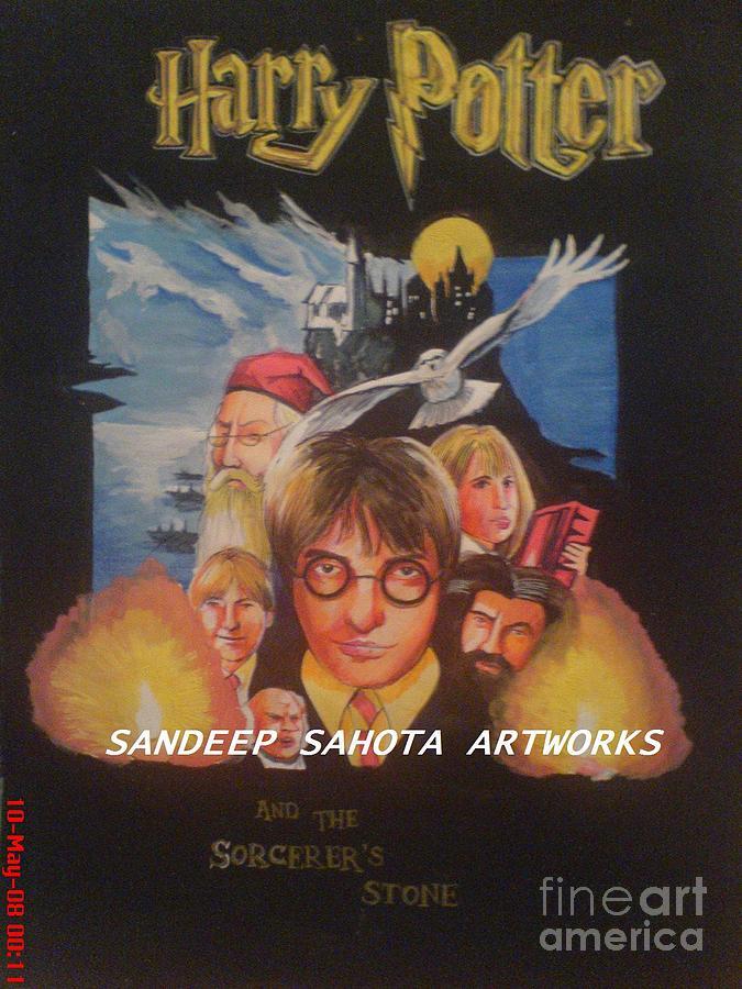 Army Painting - Harry Potter by Sandeep Kumar Sahota