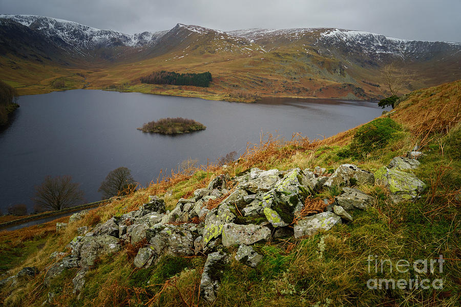 Cumbria Photograph - Haweswater  by Smart Aviation