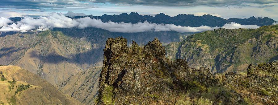 Beautiful Photograph - Hells Canyon Panoramic by Leland D Howard
