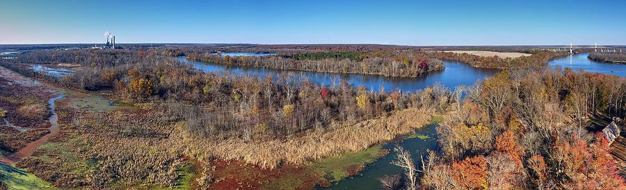 James River Photograph - Henricus 2016 by Tredegar DroneWorks
