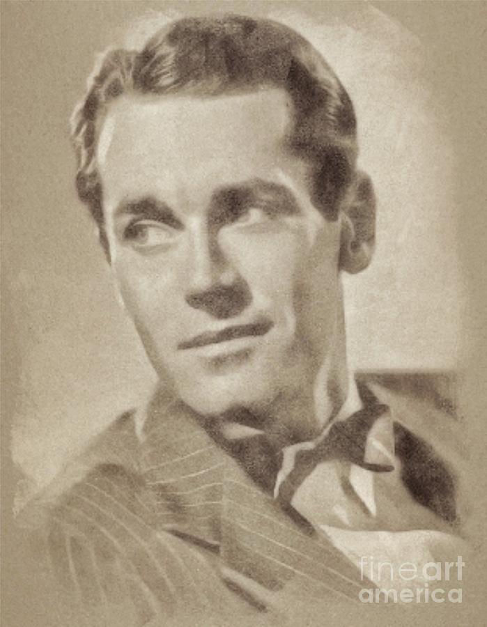 Henry Fonda Hollywood Actor Drawing