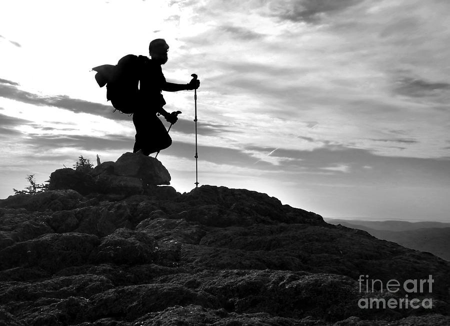 Hiker Silhouette by Glenn Gordon