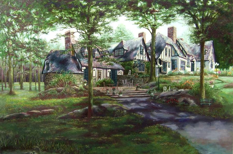House Painting - Hillbrook Inn by Ruth Stromswold