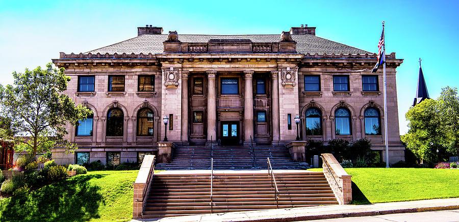 Historic Public Library Photograph