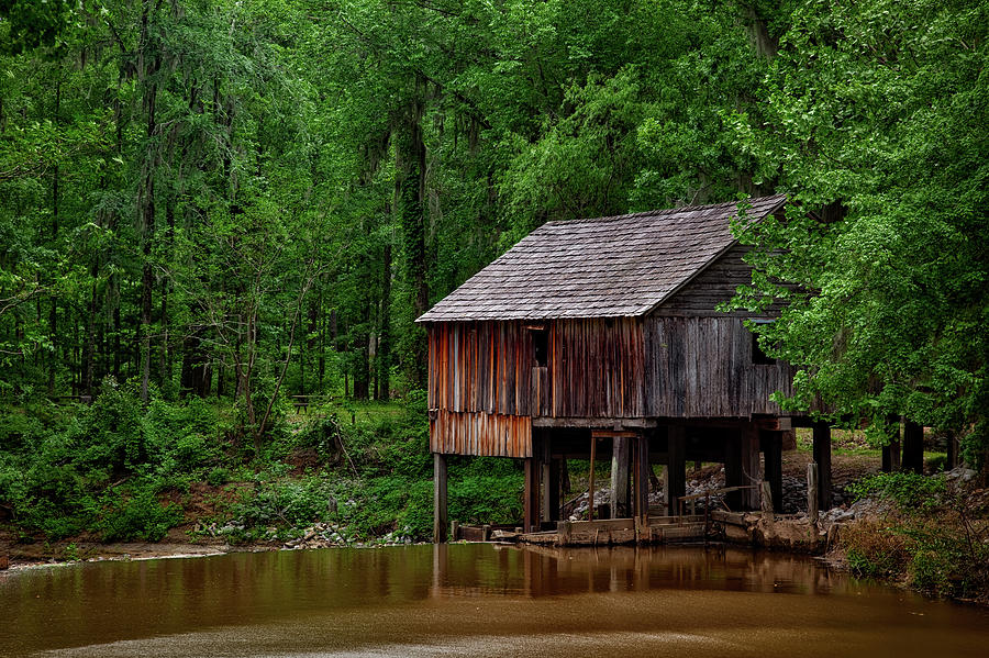 Structure Photograph - Historic Rikards Mill - Alabama by Mountain Dreams
