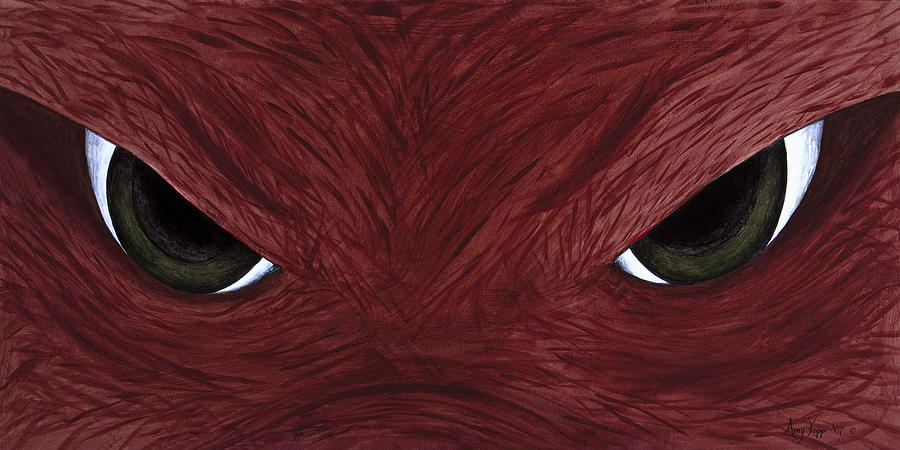 Arkansas Painting - Hog Eyes by Amy Parker Evans