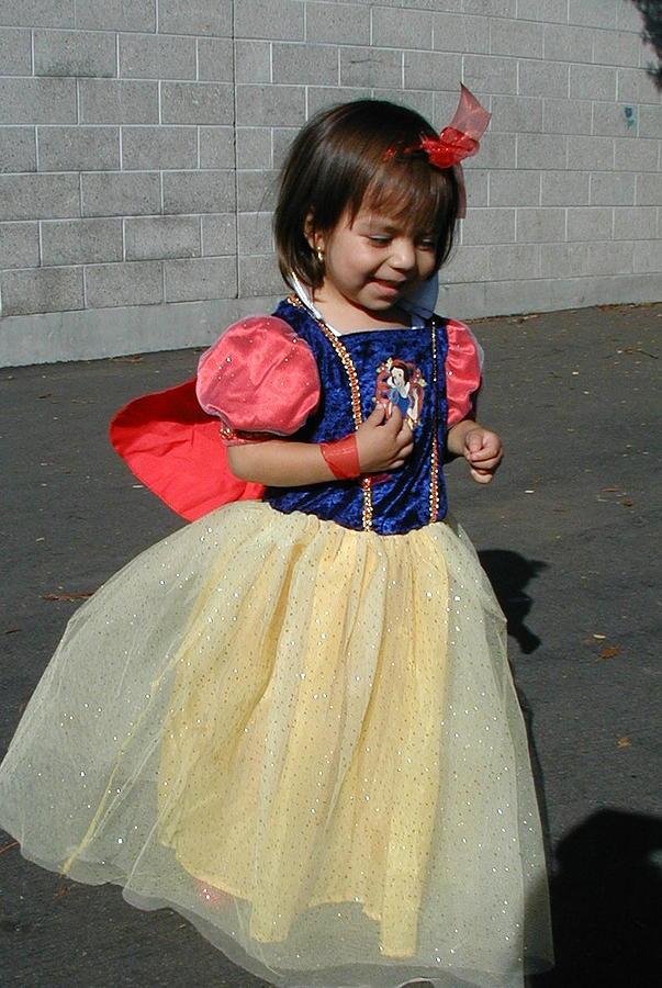 Princess Photograph - Holloween Princess by Mark Stevenson