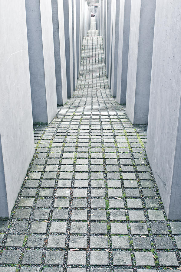 Abstract Photograph - Holocaust Memorial by Tom Gowanlock