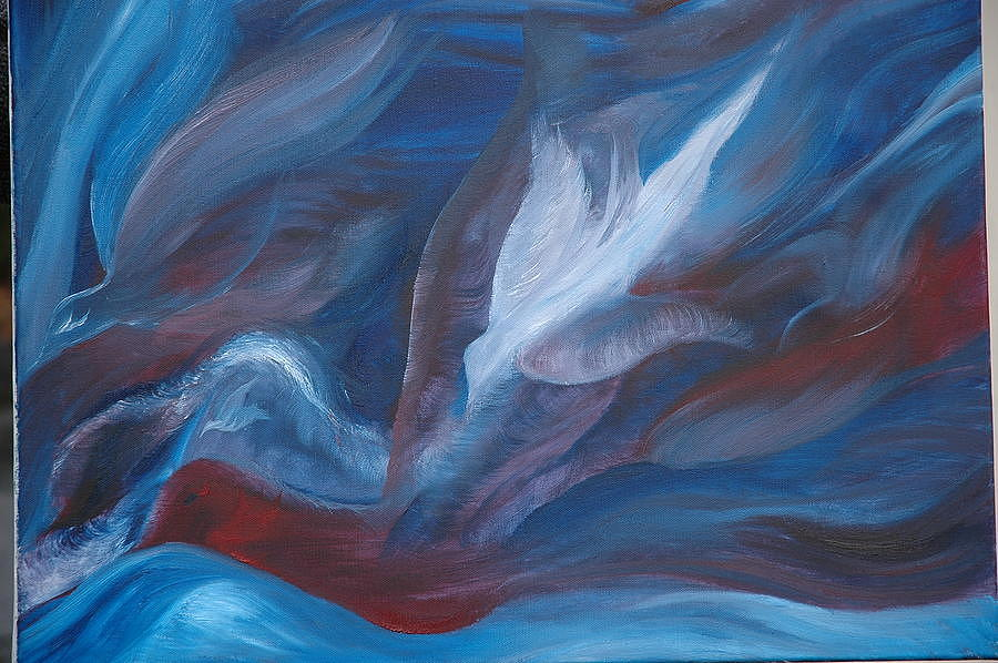 Holy Spirit Painting by Colleen Shay