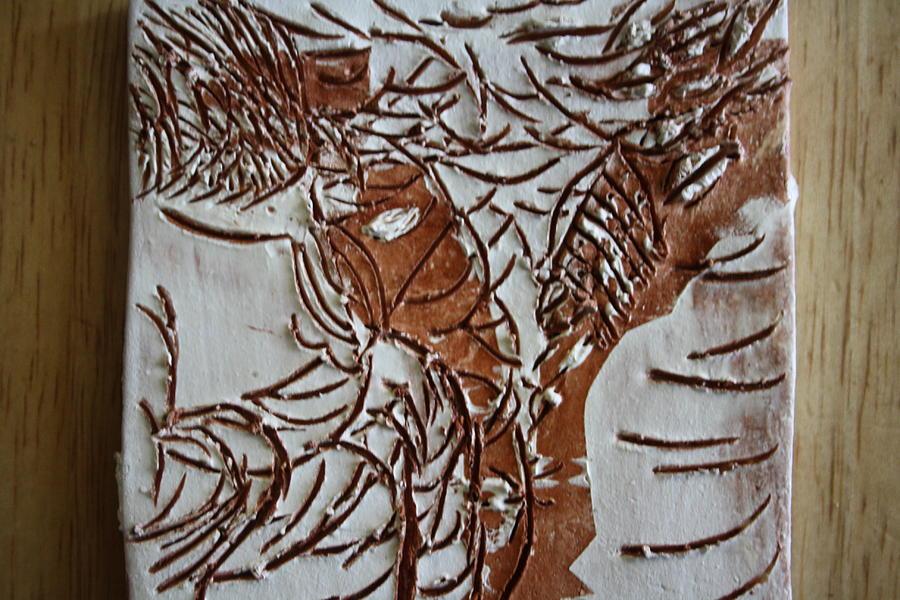 Jesus Ceramic Art - Home - Tile by Gloria Ssali
