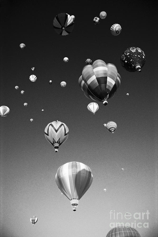 Adventure Photograph - Hot Air Balloons by Michael Howell - Printscapes