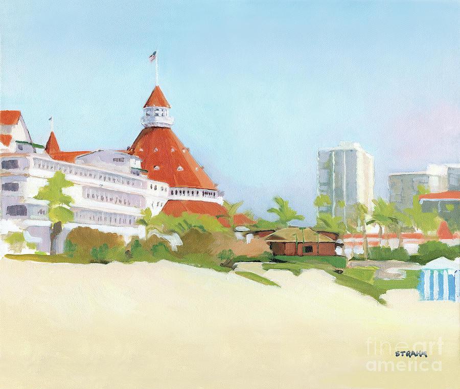 Hotel Del Coronado California by Paul Strahm