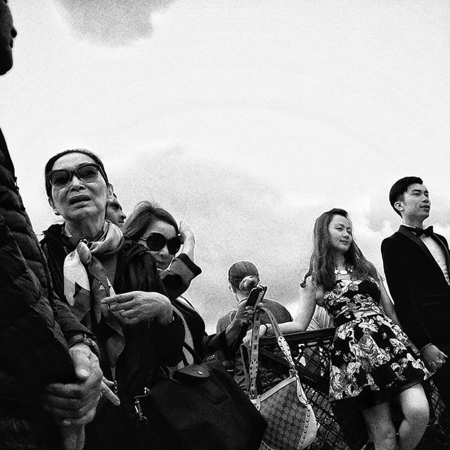 People Photograph - Human Skyline  #people #instapeople by Rafa Rivas