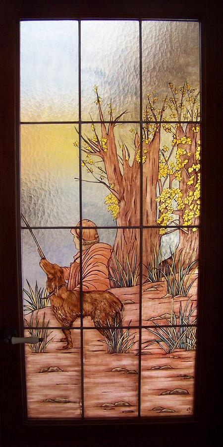 Caza Glass Art - Hunting 1 by Justyna Pastuszka