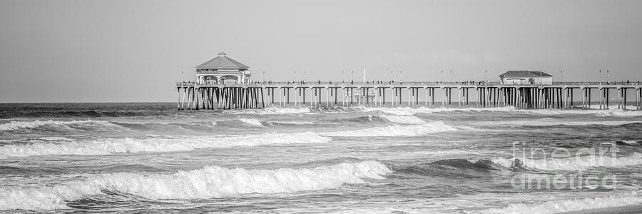 Huntington Beach Pier Panorama Photo Photograph