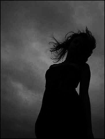 Women Photograph - I Bring The Fire- Siloette by Chelsea Jones
